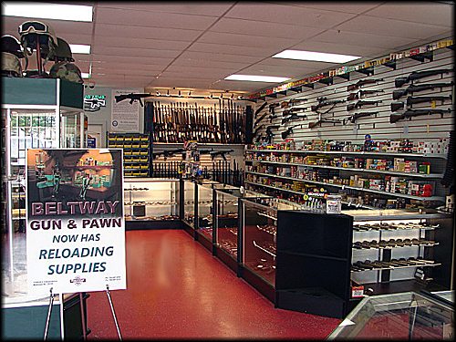 Inside of Pawn Shop | Shotguns for Sale Charlotte